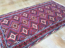 Load image into Gallery viewer, Beautiful Interior-Decorator Fine Multi Flatweave Lovely Handwoven Afghan Soumak Real Wool Rug