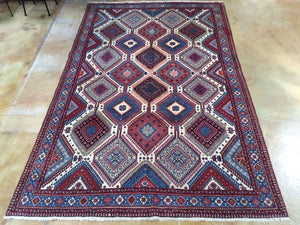 Beautiful Interior-Decorator Fine Oriental Persian Tribal Real Wool Classy Handknotted Unique Rug