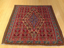 Load image into Gallery viewer, Senneh Kilim Geometric Design Handmade Lovely Handwoven Real Wool Amazing Unique Rug
