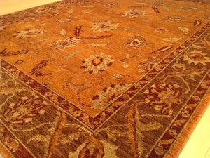 Beautiful Fine Afghan Gorgeous Real Authentic Wool Handmade Classy Handknotted Unique Rug