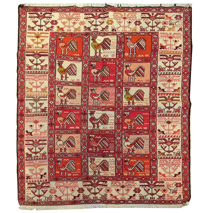 Oriental rugs, hand-knotted carpets, sustainable rugs, classic world oriental rugs, handmade, United States, interior design,  Brral-5154