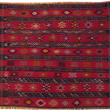 Load image into Gallery viewer, Hand-Woven Square Tribal Turkish Kilim Handmade Wool Rug (Size 3.11 X 3.11) Brral-5220