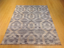 Load image into Gallery viewer, Hand-Woven Reversible Handmade Kilim Wool Rug (Size 5.0 x 6.11) Brral-5820