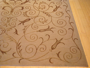Hand-Knotted Handmade Modern Wool & Silk Rug (Size 8.0 x 10.0) Brral-5856