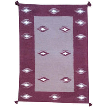 Load image into Gallery viewer, Hand-Woven Fine Southwestern Design Handmade Wool Rug (Size 2.1 X 3.1) Brrsf-1728