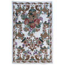 Load image into Gallery viewer, Chain-Stitched Fine India Handmade Wool Rug (Size 2.0 X 2.11) Brrsf-1734