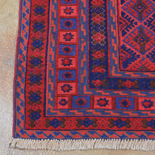 Load image into Gallery viewer, Hand-Knotted And Soumak Tribal Handmade Wool Rug (Size 5.2 X 6.2) Brrsf-6171