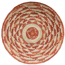 "Load image into Gallery viewer, 13"" to 15"" Inches Wide Hand-Woven Southwestern Design Basket Handmade Brbal-492"