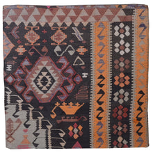 Load image into Gallery viewer, Geometric Pattern Hand-Woven Kilim Pillow Cover Brpsf-2226