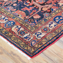 Load image into Gallery viewer, Hand-Knotted Tribal Serapi Design Handmade Wool Rug (Size 4.10 X 9.0) Cwral-3297