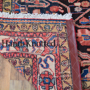 Hand-Knotted Tribal Serapi Design Handmade Wool Rug (Size 4.10 X 9.0) Cwral-3297