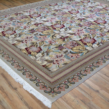 Load image into Gallery viewer, Hand-Knotted Fine Beautiful Wool Rug (Size 8.0 X 10.2) Brral-3399