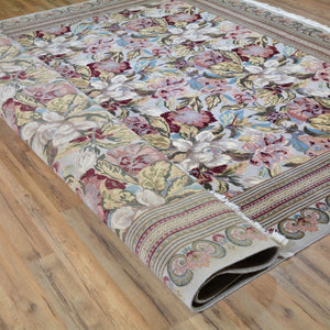 Hand-Knotted Fine Beautiful Wool Rug (Size 8.0 X 10.2) Brral-3399