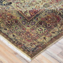 Load image into Gallery viewer, Fine Hand-Knotted Oriental Tabriz Design Wool Rug (Size 8.0 X 9.8) Brral-3660