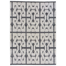 Load image into Gallery viewer, Hand-Woven Reversible Flatweave Modern Kilim Handmade Wool Rug (Size 5.1 X 7.3) Brral-3828