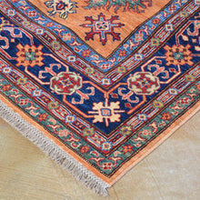 Load image into Gallery viewer, Hand-Knotted Fine Tribal Super Kazak Design Handmade Wool Rug (Size 5.11 X 8.2) Brral-3939