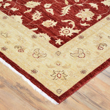 Load image into Gallery viewer, Hand-Knotted Tribal Peshawar Wool Traditional Design Rug (Size 6.2 X 9.0) Brral-3975
