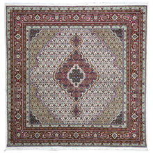 Load image into Gallery viewer, Oriental rugs, hand-knotted carpets, sustainable rugs, classic world oriental rugs, handmade, United States, interior design,  Brral-3981