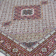 Load image into Gallery viewer, Hand-Knotted Fine Oriental Wool Silk Square Handmade Rug (Size 5.11 X 6.0) Brral-3981