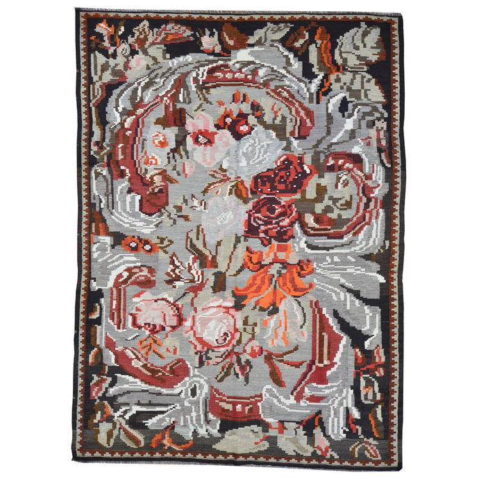 Oriental rugs, hand-knotted carpets, sustainable rugs, classic world oriental rugs, handmade, United States, interior design,  Brral-4134