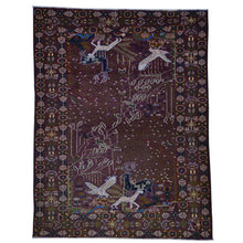 Load image into Gallery viewer, Oriental rugs, hand-knotted carpets, sustainable rugs, classic world oriental rugs, handmade, United States, interior design,  Brral-5988