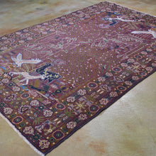 Load image into Gallery viewer, Hand-Knotted Afghan Tribal Pictorial Handmade Wool Rug (Size 5.4 X 8.1) Brral-5988