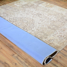 Load image into Gallery viewer, Hand-Knotted Over-dyed Patch Work 100% Wool Rug (Size 8.0 X 10.1) Brral-6165