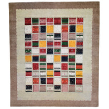 Load image into Gallery viewer, Hand-Knotted Gabbeh Design Handmade Wool Rug (Size 8.0 X 10) Brral-6264