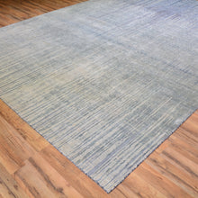 Load image into Gallery viewer, Hand-Knotted Modern Design Handmade Wool/Silk Rug (Size 8.0 X 10.4) Brral-6309