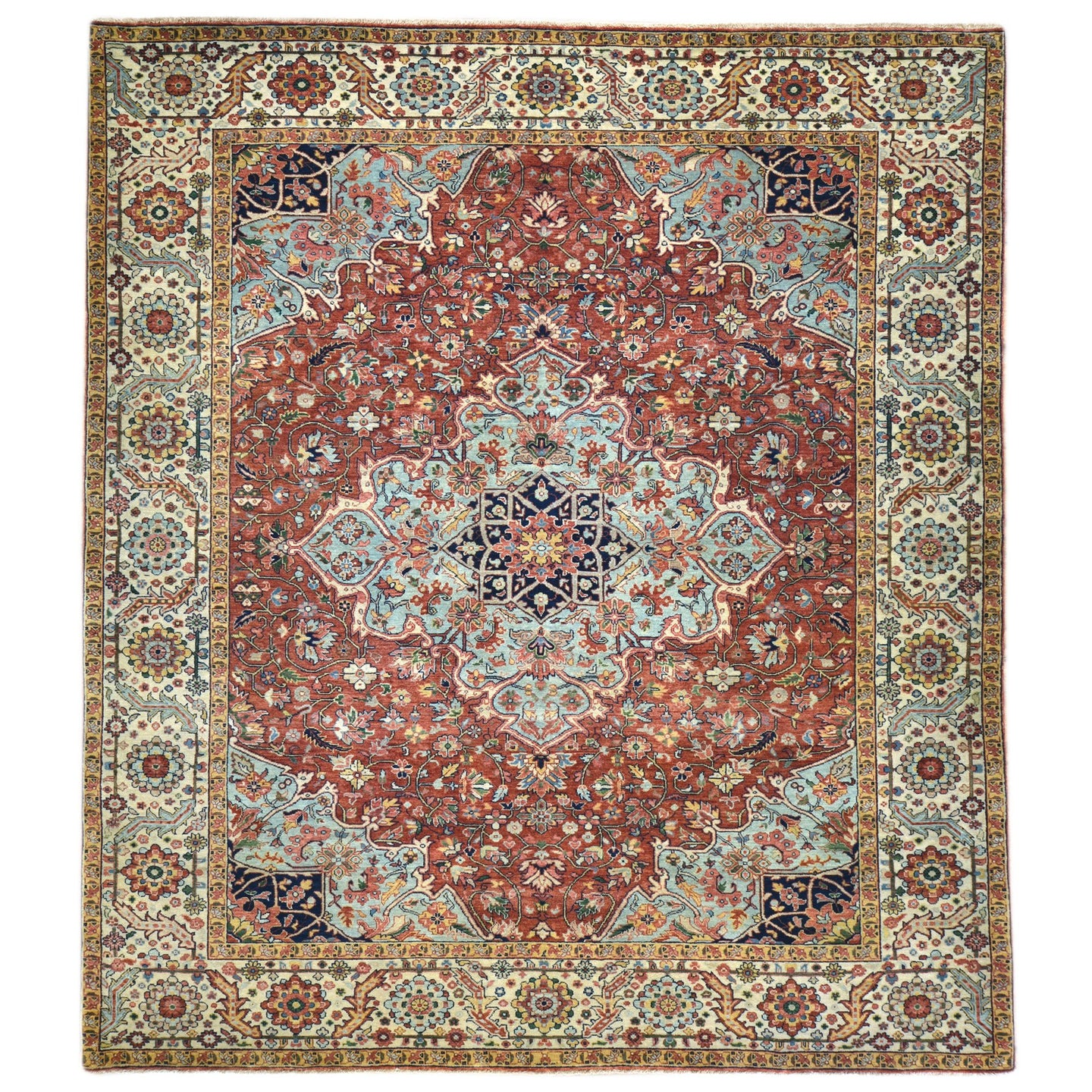 Oriental rugs, hand-knotted carpets, sustainable rugs, classic world oriental rugs, handmade, United States, interior design,  Brral-6321