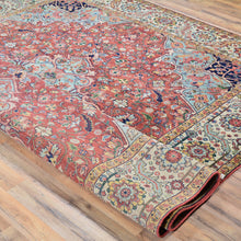 Load image into Gallery viewer, Fine Hand-Knotted Heriz Design Handmade Wool Rug (Size 7.9 X 9.8) Brral-6321