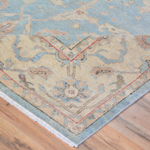 Load image into Gallery viewer, Hand-Knotted Peshawar Oushak Design Wool Rug (Size 7.10 X 9.8) Brral-6348