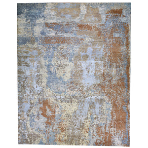 Hand-Knotted Modern Design Handmade Wool Rug (Size 8.0 X 10) Brral-6354