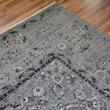 Load image into Gallery viewer, Fine Wool Silk Traditional Design Handmade Rug (Size 9.1 X 12.2) Brral-6378
