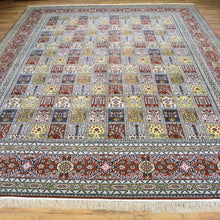 Load image into Gallery viewer, Hand Knotted Garden Panel Design Silk Handmade Rug (Size 9.1 X 11.10) Brral-6381