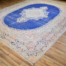 Load image into Gallery viewer, Hand-Knotted Persian Geometric Design 100% Wool Rug (Size 9.1 X 12.3) Brral-6390