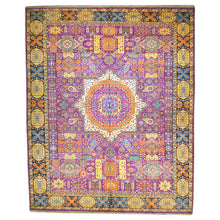 Load image into Gallery viewer, Hand-Knotted Oriental Mamluk Design Wool Rug (Size 9.9 X 13.11) Brral-6447