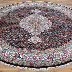 Hand-Knotted Mahi Tabriz Design Wool Handmade Rug (Size 7.8 X 7.8) Brral-6474