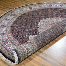 Load image into Gallery viewer, Hand-Knotted Mahi Tabriz Design Wool Handmade Rug (Size 7.8 X 7.8) Brral-6474