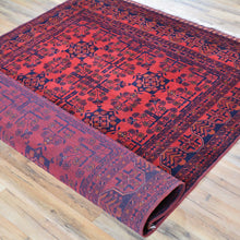 Load image into Gallery viewer, Hand-Knotted Turkmen Handmade Tribal Traditional Afghan Rug (Size 5.0 X 6.1) Brral-6489