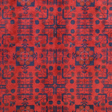Load image into Gallery viewer, Hand-Knotted Fine Turkmen Handmade Tribal Traditional Afghan Rug (Size 5.2 X 6.6) Brral-6498