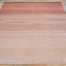 Load image into Gallery viewer, Hand-Knotted Gabbeh Design Handmade Wool Rug (Size 5.8 X 7.5) Brral-6525