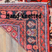 Load image into Gallery viewer, Hand-Knotted Persian Hamadan Authentic Wool Rug (Size 4.10 X 7.11) Brral-6534