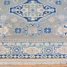 Load image into Gallery viewer, Hand-Knotted Kazak Caucasian Design Wool Rug (Size 4.9 X 6.8) Brral-6549