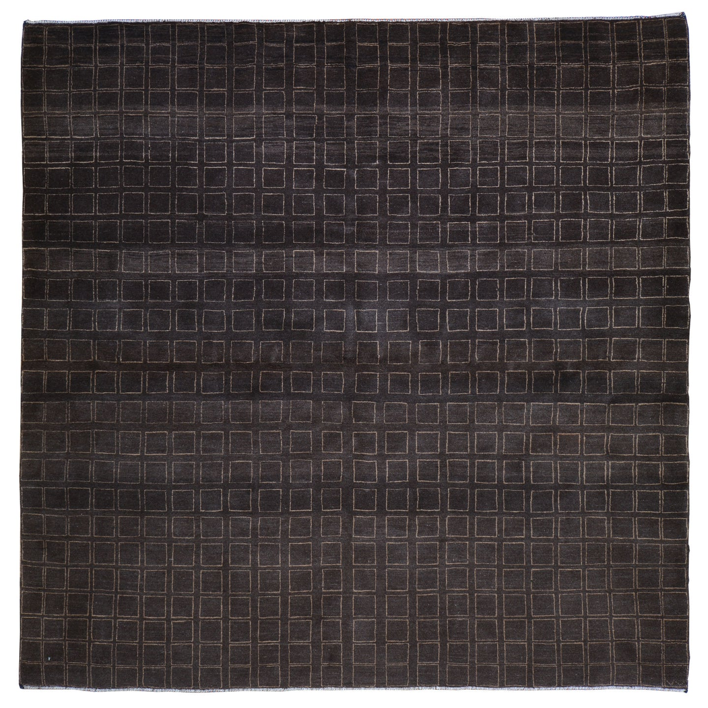 Hand-Knotted Modern Gabbeh Design Wool Handmade Rug (Size 6.7 X 6.6) Cwral-6561