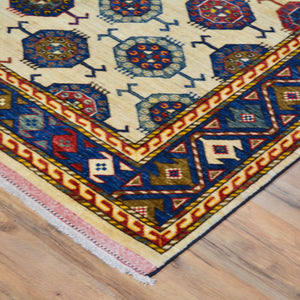 Afghan Hand-Knotted Ersari Handmade Wool Rug (Size 6.0 X 9.1) Brral-6570
