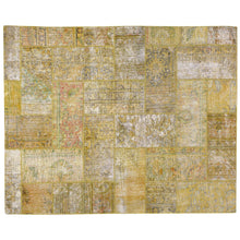 Load image into Gallery viewer, Hand-Knotted Modern Overdyed Patchwork Wool Handmade Rug (Size 5.1 X 6.11) Brral-738