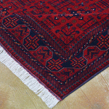 Load image into Gallery viewer, Hand-Knotted Fine Turkmen Handmade Tribal Wool Rug (Size 4.11 X 6.4) Brral-801