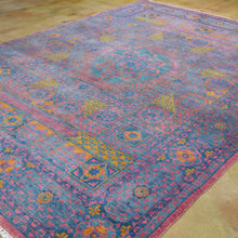 Load image into Gallery viewer, Hand-Knotted Mamluk Design Handmade Wool Rug (Size 8.0 X 10.3) Brral-1050