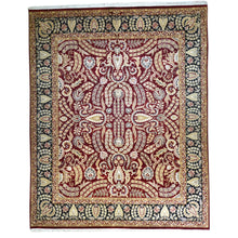 Load image into Gallery viewer, Oriental rugs, hand-knotted carpets, sustainable rugs, classic world oriental rugs, handmade, United States, interior design,  Brral-1083